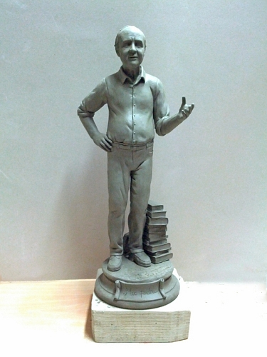 Statua in argilla 35cm raffigurante Giuseppe Criscione mio padre