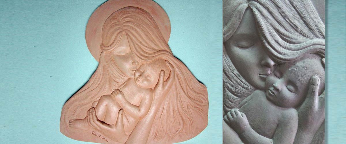 bassorilievo maternita